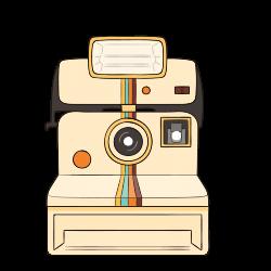 Photographic film Cartoon Instant camera Polaroid Corporation ...