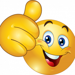 Smiley Face Thumbs Up bear clipart hatenylo.com