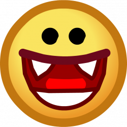 Image - Halloween 2013 Emoticons Vampire Smile.png | Club Penguin ...