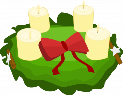 28+ Collection of Advent Wreath Clipart Free | High quality, free ...