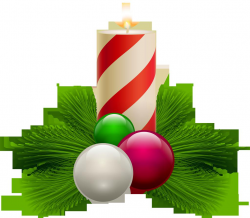 Holiday Candle Clipart Clear Ornament Chritma - Clipart1001 ...