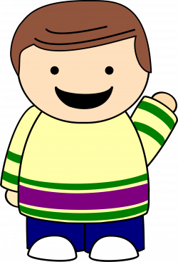 Clipart boy point - Graphics - Illustrations - Free Download on ...