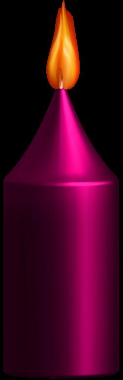 Pink Candle PNG Clip Art - Best WEB Clipart