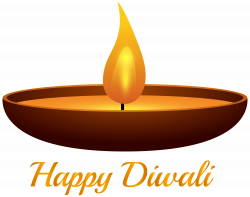 Happy Diwali Candle PNG Clip Art Image | Gallery Yopriceville ...