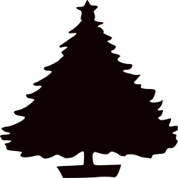 Christmas Tree Silhouette Images at GetDrawings.com | Free for ...