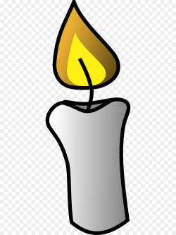 Flame Candle Clip art - Candle Flame Clipart png download - 434*1200 ...