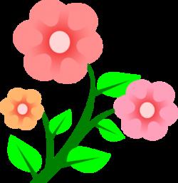 Garden Flowers Clip Art | Many Flowers