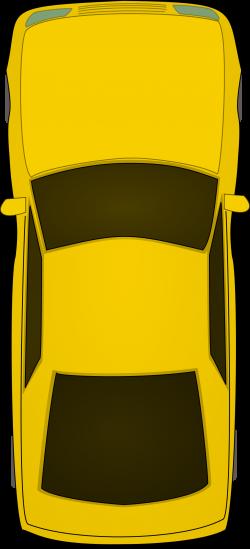 Clipart - top view car