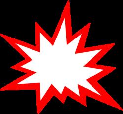 Red Explosion Clip Art at Clker.com - vector clip art online ...