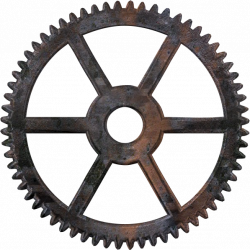 rouage1_1.png | Clipart Boy | Pinterest | Steampunk gears, Cd crafts ...