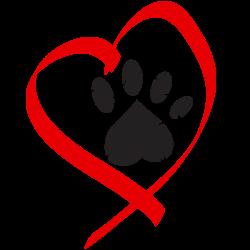 Paw & Heart! | GoGrrlZ logo idea starters | Pinterest