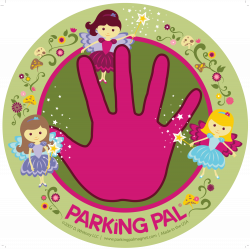 Fairy Parking Pal Car Magnet for Parking Lot Safety