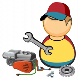 Clipart - Car / automotive mechanic