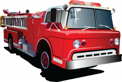 Fire truck cartoon clipart - Clipartix