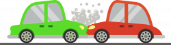 Clipart - Two Cars Crash