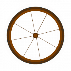 Wagon Wheel Silhouette at GetDrawings.com | Free for personal use ...