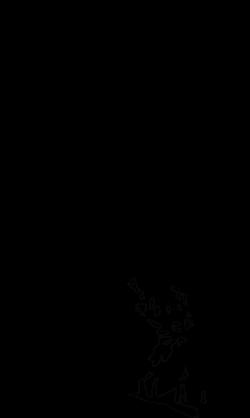 Clipart - Castle (outline)