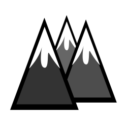 OnlineLabels Clip Art - Snowcapped Mountains