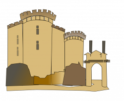 Castle | Free Stock Photo | Illustration of a medieval castle | # 16889
