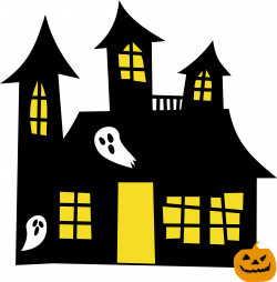 Clipart - Haunted House Remix