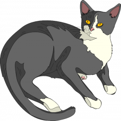 Julian S Cat Clip Art at Clker.com - vector clip art online, royalty ...
