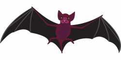 Scary clipart bat ~ Frames ~ Illustrations ~ HD images ~ Photo ...