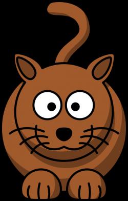 Clipart - Cartoon cat