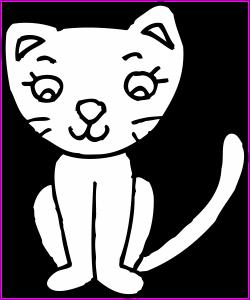Best Clip Art Of A Cat Kitten Cute Clipart Kid U Lemonize Picture ...