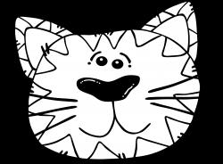 Clipart - Cat Line Art
