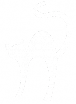 Shapes clipart cat - Pencil and in color shapes clipart cat