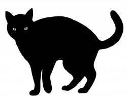 40+ Angry Black Cat Clipart | Cats | Pinterest | Cat clipart, Black ...