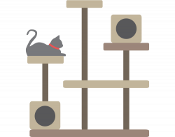 Cat Clipart tree - Free Clipart on Dumielauxepices.net