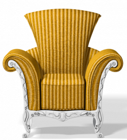 Transparent Gold Chair PNG Clipart | Gallery Yopriceville - High ...