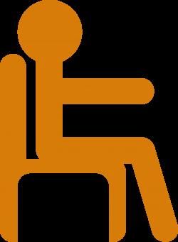 Clipart - Man in Chair