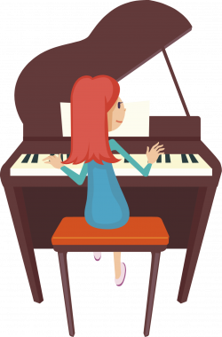 28+ Collection of Piano Clipart Free | High quality, free cliparts ...