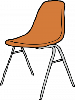 Clipart - Modern Chair 3/4 Angle