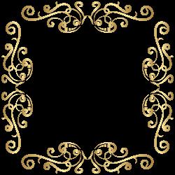 Meme Facebook Clip art - Golden Border Deco Frame PNG Clip Art Image ...