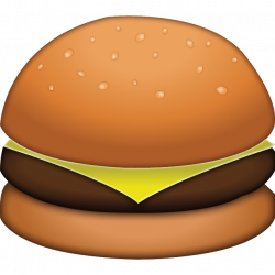 Download Cheese Burger Emoji Icon | Emoji Island
