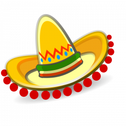 mexican hat clipart | P North America | Pinterest | Mexican hat ...