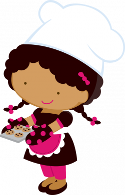 28+ Collection of Little Girl Chef Clipart | High quality, free ...