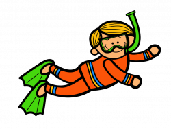 28+ Collection of Kid Diving Clipart | High quality, free cliparts ...