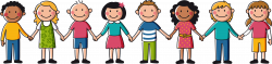 Kids Holding Hands Drawing at GetDrawings.com | Free for personal ...