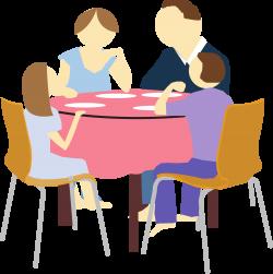 File:Family eating clip art.svg - Wikimedia Commons