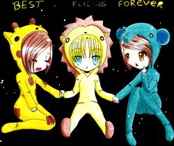Best friends forever Drawing Friendship Clip art - bestie 900*758 ...