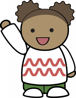 28+ Collection of Child Waving Hello Clipart | High quality, free ...