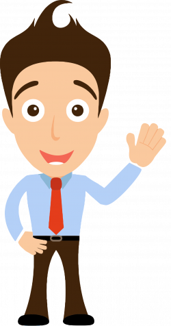 28+ Collection of Person Waving Clipart | High quality, free ...