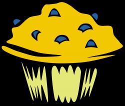 OnlineLabels Clip Art - Fast Food, Breakfast, Muffin, Blueberry