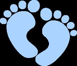 Baby Feet Clip Art at Clker.com - vector clip art online, royalty ...