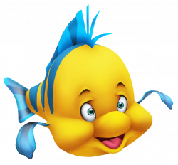 Little Mermaid FlounderPNG Clipart Picture | Disney and other ...