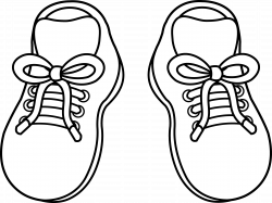 28+ Collection of Shoe Clipart Outline | High quality, free cliparts ...